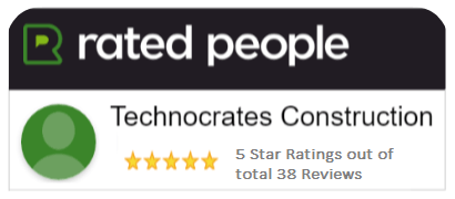 5 Star rating on Rated People